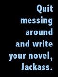 write your novel-phone wallpaper