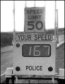 50 speed limit