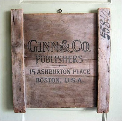 Ginn and Co sign