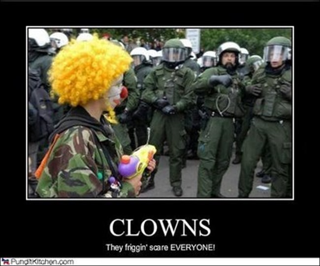 Clowns Scare Everyone
